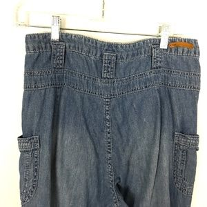 Pilcro and the Letterpress Jeans - Pilcro High Waist Flare Jeans Lightweight Size 28